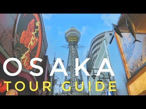 OSAKA'S BEST FOOD & VIEW l OSAKA ITINERARY l TOUR GUIDE