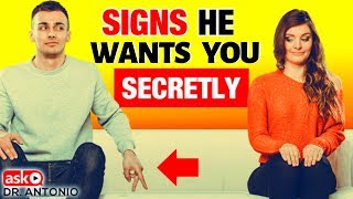 Signs He's Secretly Attracted To You - How to Know For Sure