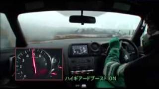 Nissan GT-R R35 SpecV review with subtitles