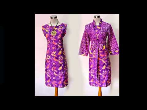 Model Baju Batik Kantor Batik Trusmi