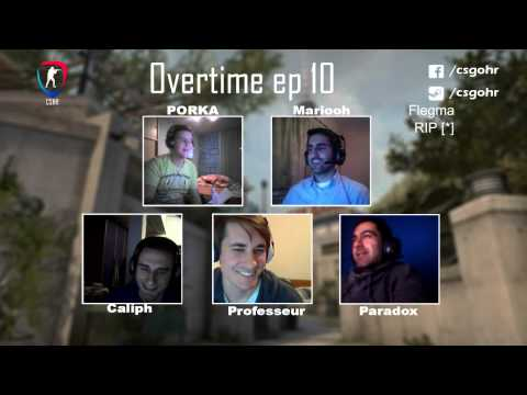 Overtime Podcast ep.10 feat Paradox, Mariooh, PORKA, Caliph