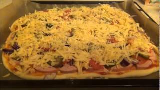 Пицца овощное ассорти. Готовим вместе.