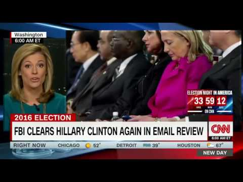 Comey clears Clinton in email probe
