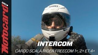 Intercoms moto Scala Rider Freecom 1+, 2+ et 4+ 🆕  2019