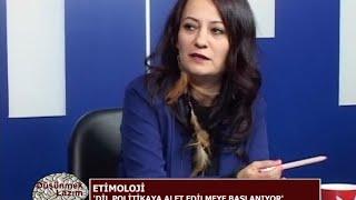 """Düşünmek Lazım'da konumuz """"Etimoloji""""  - 24 Ocak 2016"""