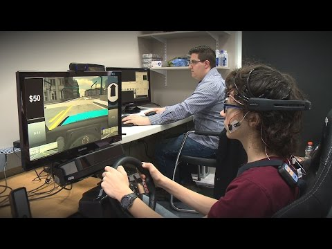 Using virtual reality to help teenagers with autism learn how to drive
