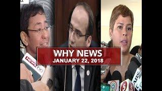 UNTV: Why News (January 22, 2018)
