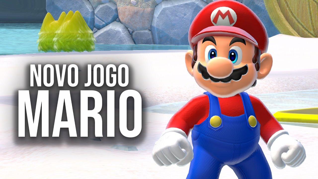NOVO JOGO do MARIO!!! | Bowser's Fury - O Início de Gameplay, em PORTUGUÊS!