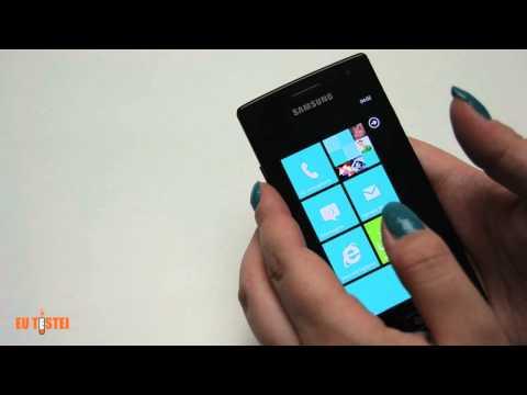 Smartphone Samsung Omnia W I8350 - Resenha Brasil