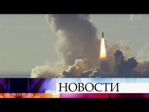 С подлодки «Юрий Долгорукий» произвели учебный запуск ракет «Булава».