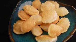 Puri For Pani Puri - Indian Chat Recipe