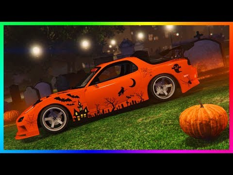 GTA ONLINE HALLOWEEN 2017 DLC RELEASE DATE CONFIRMED - NEW SUPER CAR, RARE VEHICLES & MORE! (GTA 5)