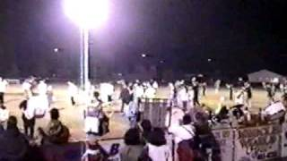 mths panther marching band 1997 band night football game