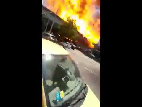 Esplosione Vista Dal Randagio Di Bologna 6 Agosto 2018