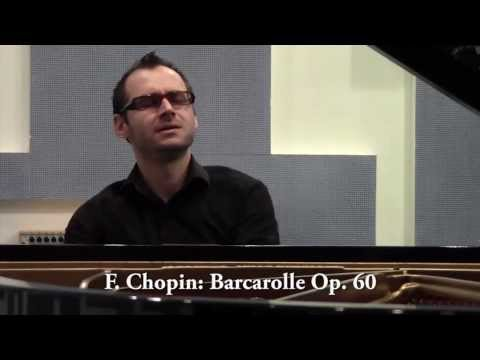 Rok Palčič plays Chopin Barcarolle Op 60