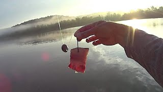 Anchor Fishing for Catfish On A Secondary Channel