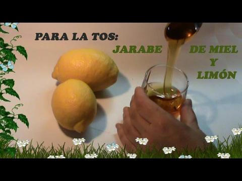 miel y limon para la tos seca