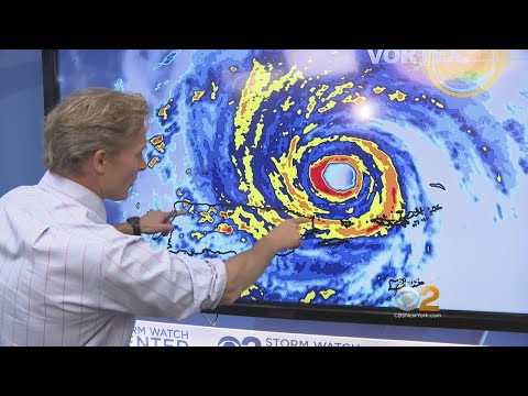 The Latest On Hurricane Irma's Path