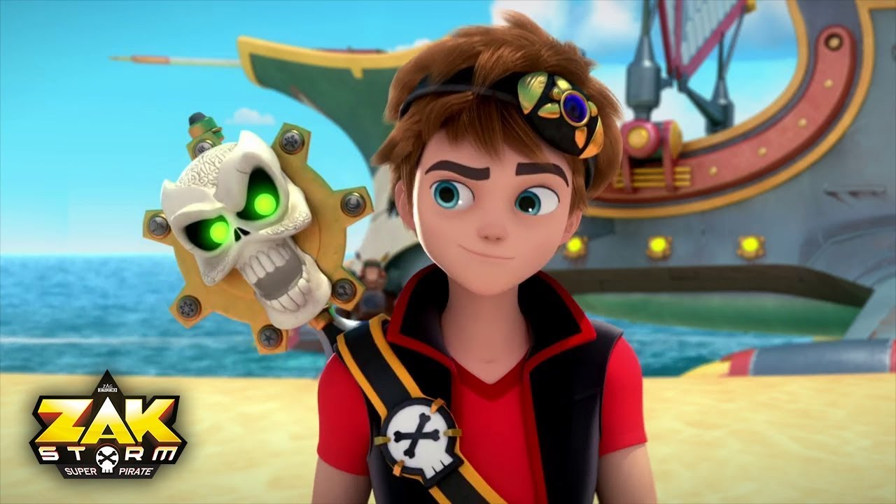 Zak storm first impression episode 1 review youtube for Immagini da stampare di miraculous