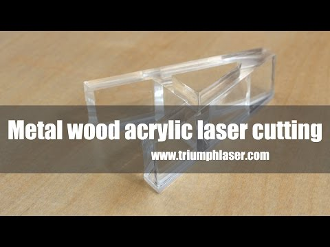Metal laser cutter CO2 wood acrylic laser cutting machine