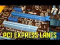 PCI Express lanes explained (AKIO TV)