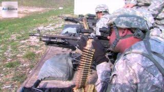 Army Paratrooper Training - M240B Machine Gun, M4 Rifle, M249 SAW, M320A1 Grenade Launcher