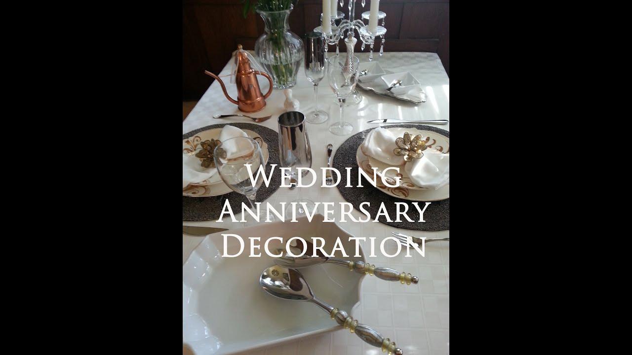 7th wedding anniversary decoration youtube 7th wedding anniversary decoration buycottarizona