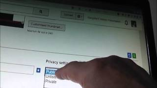How to Select  your Privacy Settings and Age restrictions on Youtube