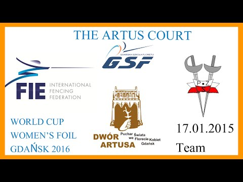 The Artus Court 2016 Women Foil Team - Finals