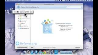 iPod Touch 5 Data Recovery Mac: How to Recover Photos from iPod Touch 5 from iTunes Backup(Mac)