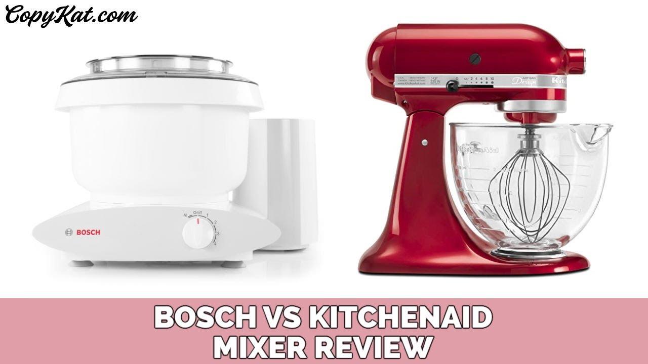 bosch kitchen mixer cheap kitchens reviews vs kitchenaide youtube