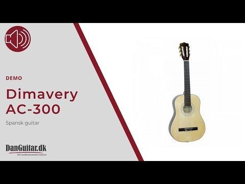Dimavery AC-300 Spansk-Guitar fra DanGuitar.dk