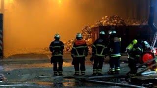 2016-02-13 Feuer auf Recyclinghof