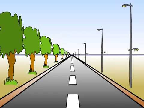 Comment Dessiner Une Route En Perspective تعلم كيف ترسم طريق بعلم