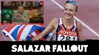 """She can go and shite"" | Paula Radcliffe's response to Salazar verdict | OTB AM"
