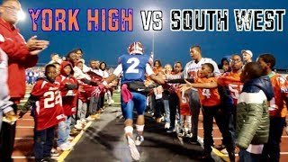 2018 York High Bearcats Vs. South Western Mustangs Football Highlights