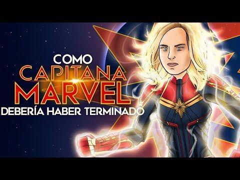 Como Capitana Marvel Debería Haber Terminado