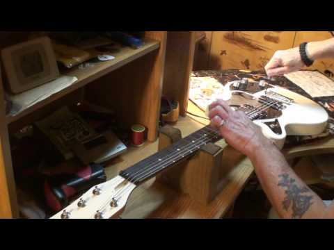 First Act GarageMaster electric guitar setup & more tips a course a course =D