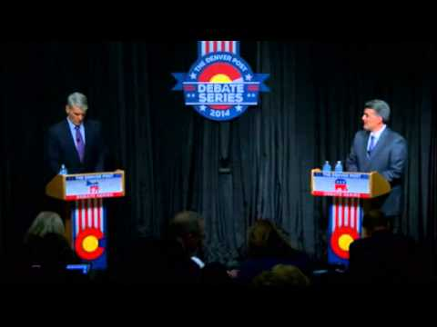 Cory Gardner Random Debate Joke Fail