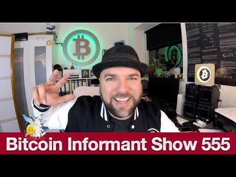 #555 Bitcoin am Postschalter, Bargeld nur für Kriminelle & Bitmain 500 Millionen Dollar Verlust