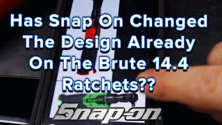 Snap On Friday: New Design For The Brute 14.4 Ratchet? Sure Looks Different? Also Knipex Cutters