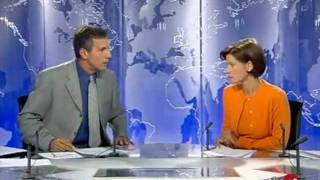 Sandra BELLIER JT 13h France 2 Catastrophe Tunnel du Mont Blanc