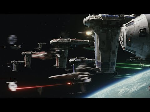 The Last Jedi Opening Battle