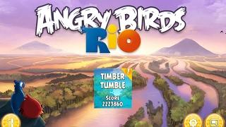 Angry Birds: Rio 2. Timber Tumble (level 18) 3 stars. Прохождение от SAFa