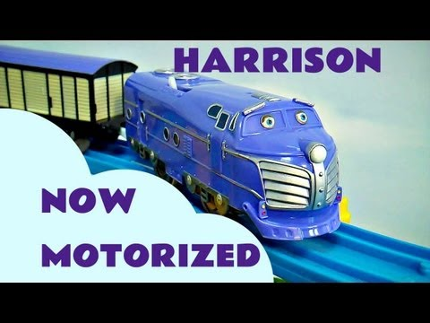 Motorized Chuggington Tomy Harrison Thomas The Tank Track Kids Toy Train Set Thomas And Friends