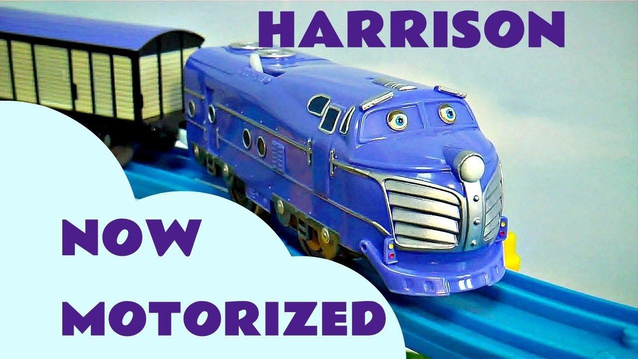 Motorized Chuggington Tomy Harrison Thomas The Tank Track