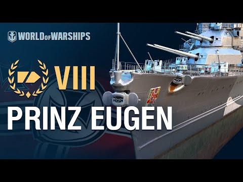 Армада за 90 секунд: Prinz Eugen