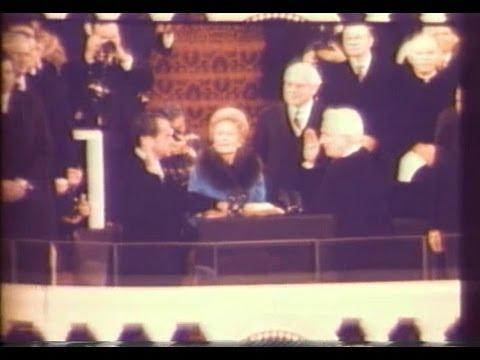 Jan. 20, 1973: Inaugural Ceremonies for Richard M. Nixon