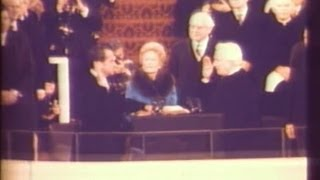 Jan. 20, 1973: Inaugural Ceremonies for Richard M. Nixon