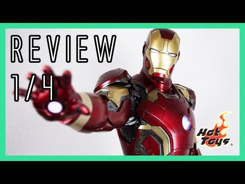 Hot Toys Iron Man Mark 43 1/4 Avengers Age of Ultron Review QS005